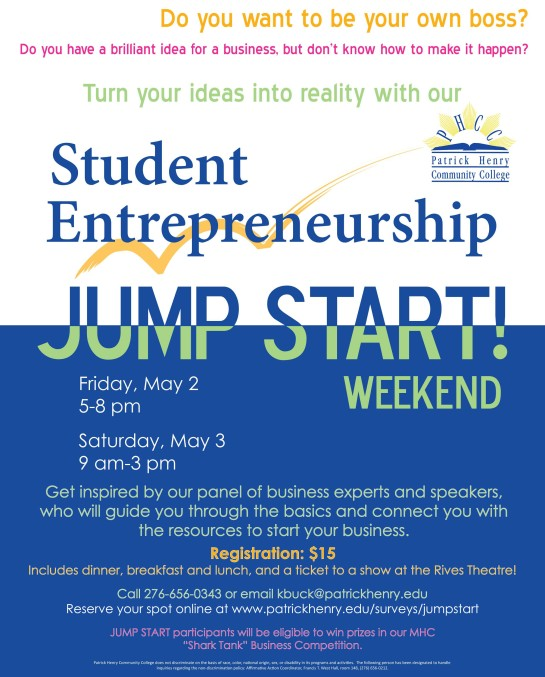 JUMPstartWEEKEND
